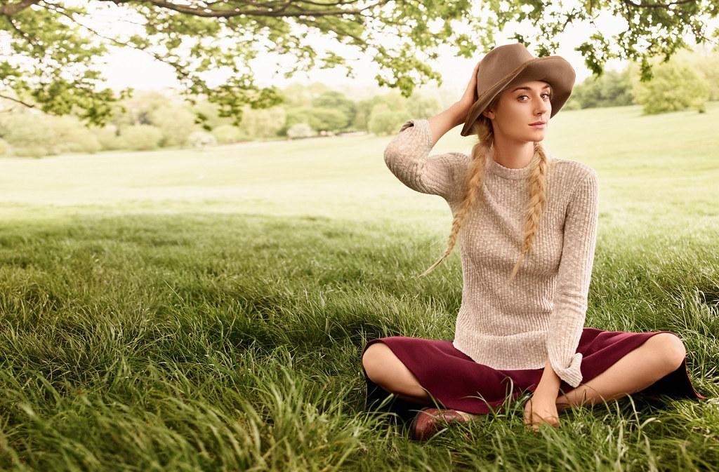 Элизабет Дебики — Фотосессия для «Vogue» 2015 – 3