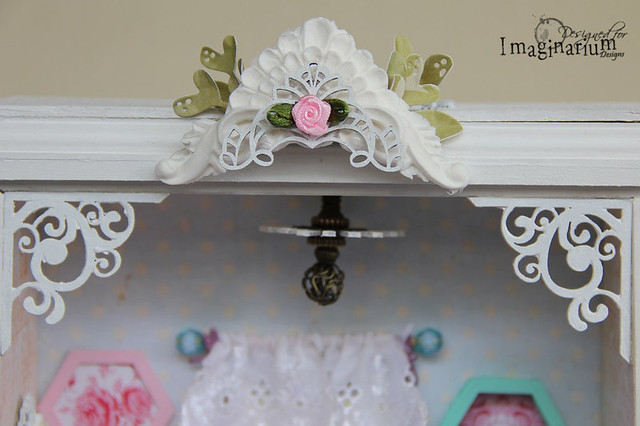 """Shabby Chic Bedroom"" Miniature"