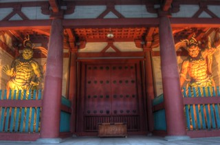 Shitennoji-Temple, Osaka on OCT 31, 2015 (12)