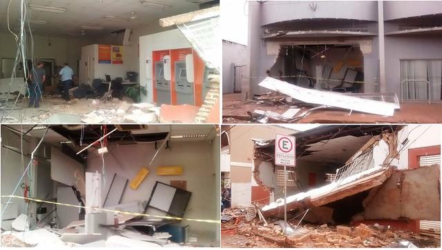 agência bancária assalto tamarana