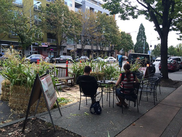Seattle Park(ing) Day