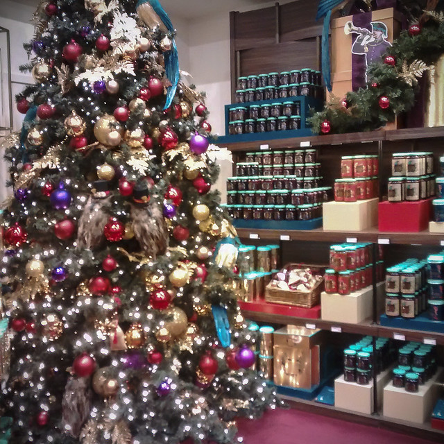Fortnum & Mason Christmas display 2015