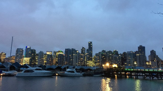 Vancouver in the morning.