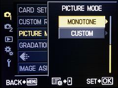 Monotone Menu - Oly E-PL2