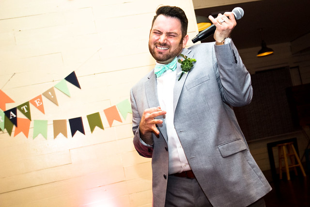 Phillip and Justin's Wedding at Palm Door in downtown Austin, Texas, lgbt wedding, gay wedding, a practical wedding, lipsync battle