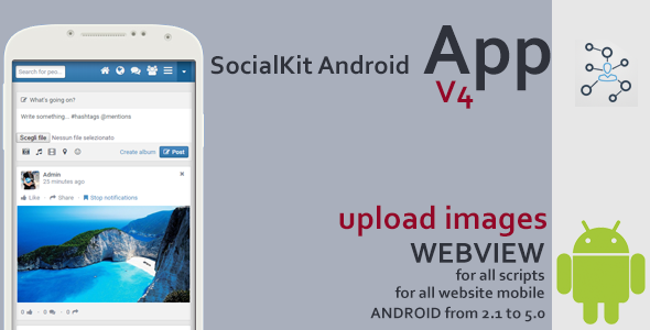 Codecanyon SocialKit Android App