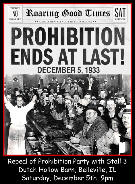 Repeal Of Prohibition Party 12-5-15