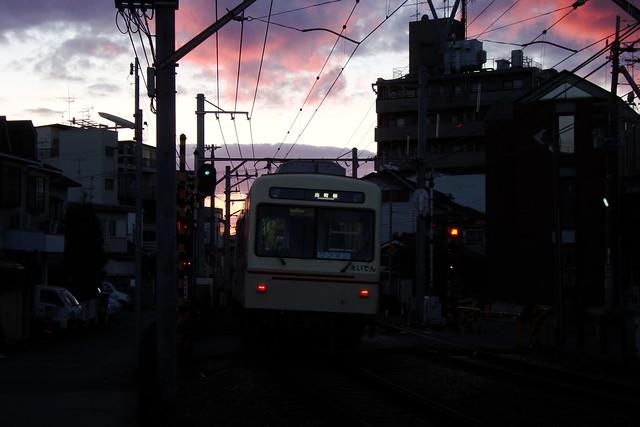 2015/12 叡山電車元田中駅近く #03