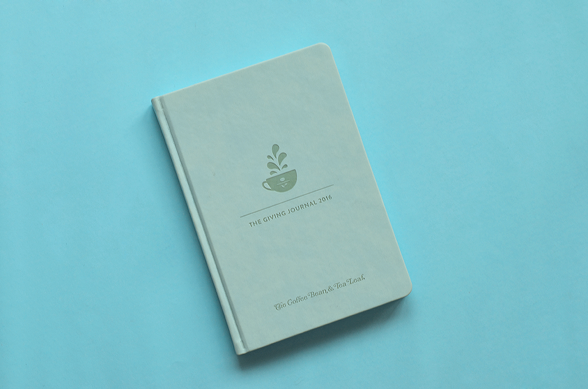 Trice Nagusara The Coffee Bean & Tea Leaf 2016 Journal