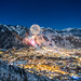 Aspen Colorado, New Years Fireworks 2014 by tobyharriman