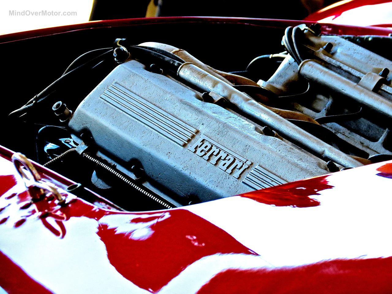 Ferrari V12 Laguna Seca Paddock