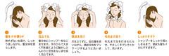 20代女性薄毛正しいシャンプー方法