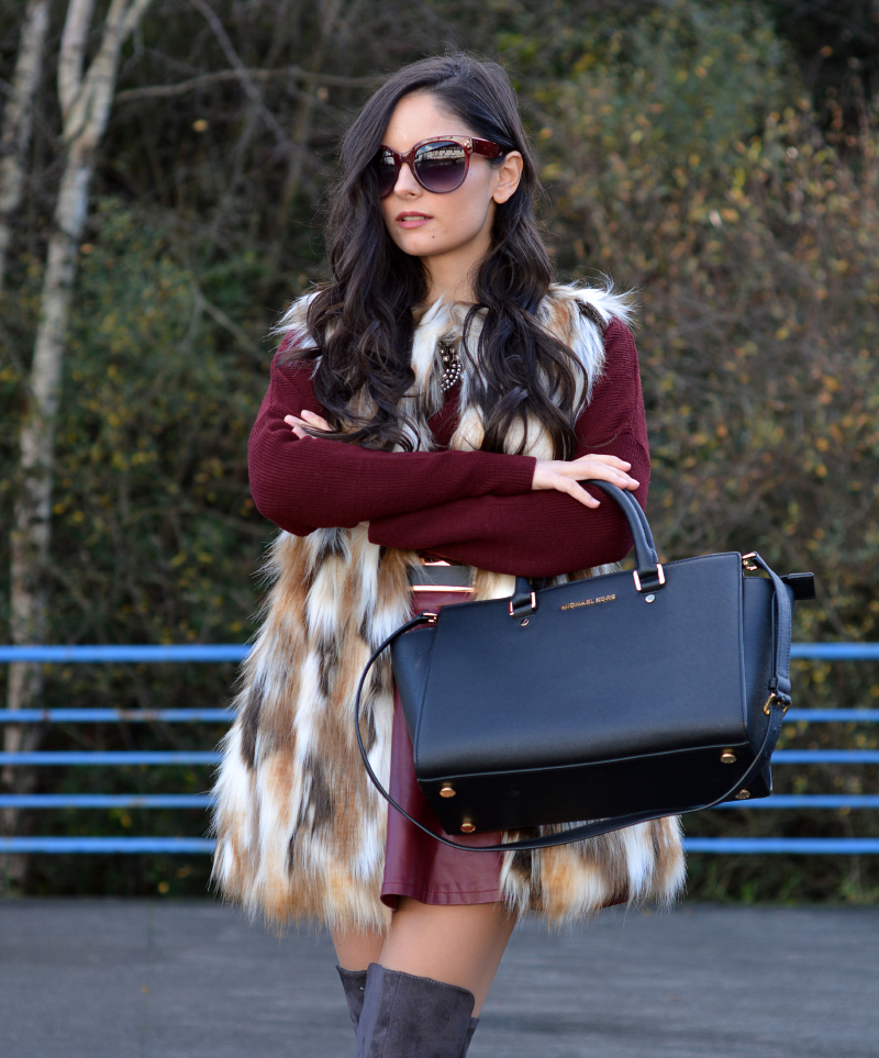 zara_ootd_highboots_burdeos_burgundy_vest_michael kors_10