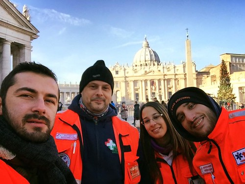 #arancioNatale e l'assistenza a San Pietro