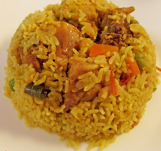 Easy Pressure cooker Chicken Biriyani