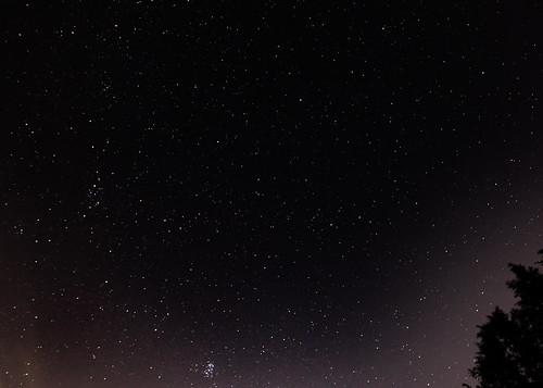 NE Night Sky Over Framingham, MA