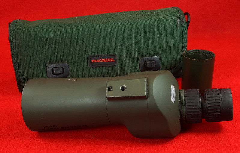 RD14520 Winchester WT-541 Spotting Scope with Bag DSC05910