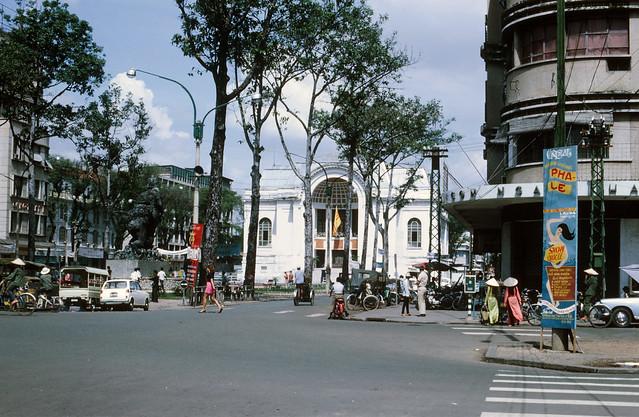 SAIGON 1969 - Photo by larsdh - Công trường Lam Sơn