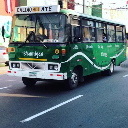 Asia bus - Lima, Perú