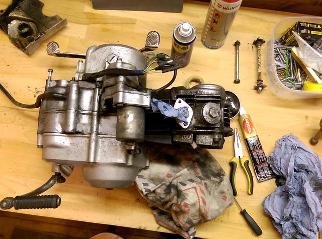Rebuilding the C90.