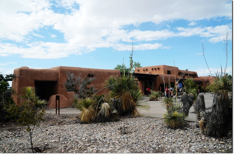 White Sands National Monument Visitor center