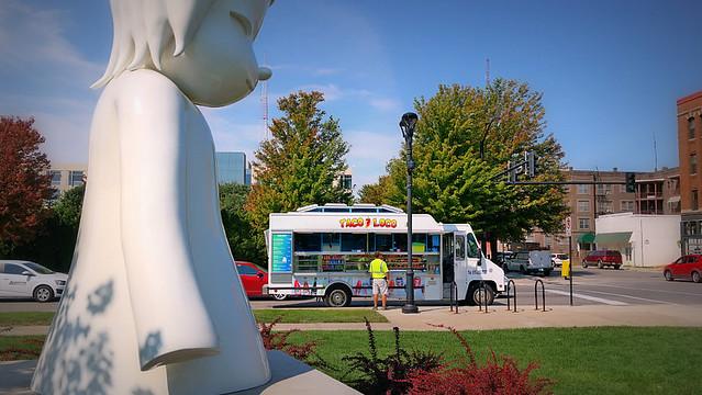 Taco Loco Truck in Des Moines, Iowa