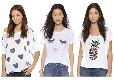 Cute Tees from Shopbop