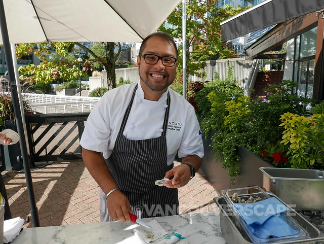 Ancora Executive Chef Ricardo Valverde