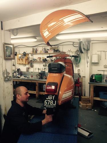 Rear hub repairs