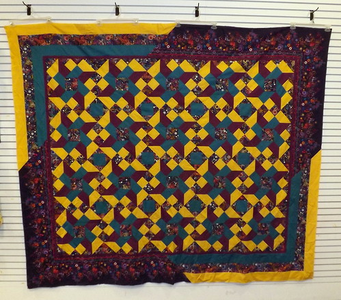 DBQ Mystery Quilt Top - Bordered II