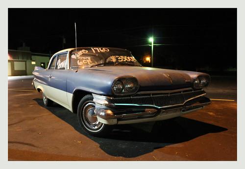 car illinois nighttime dodge freeburg