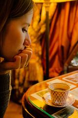 Elegant café