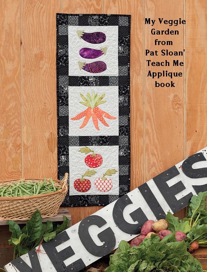pat sloan veggie banner