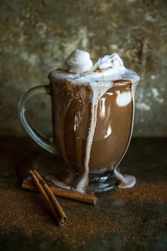Pumpkin Hazelnut Hot Chocolate- Dairy Free
