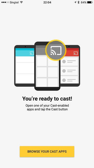 Chromecast iOS App - You're Ready To Cast!