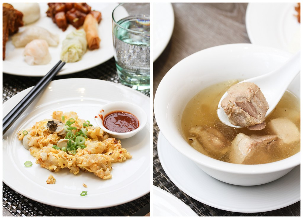 Atrium Restaurant: fried carrot cake & bak kut teh