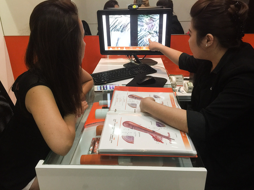 Hair Scalp Analysis at Yun Nam Hair Care
