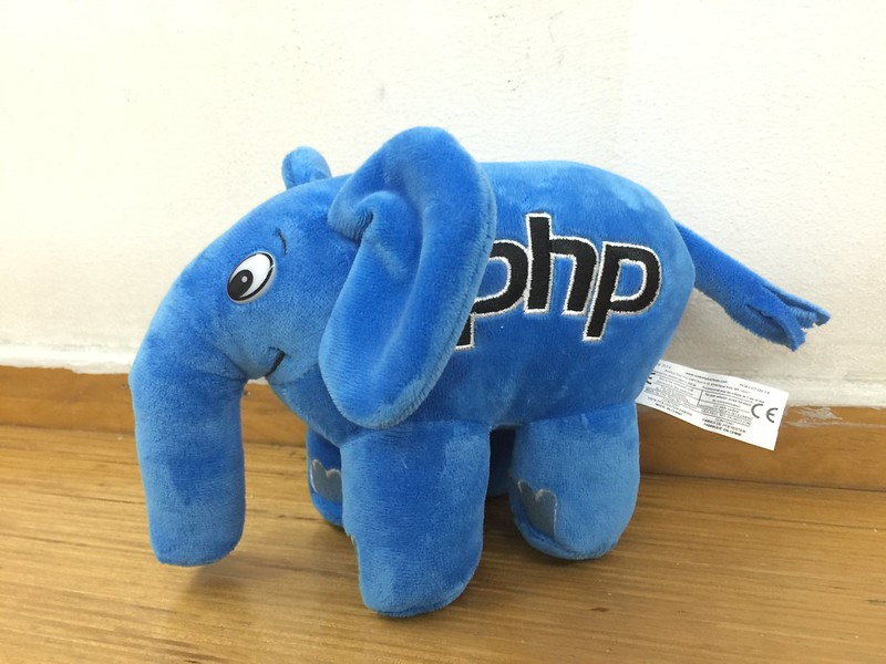 PHP ElePHPant (Blue) Plush Toy