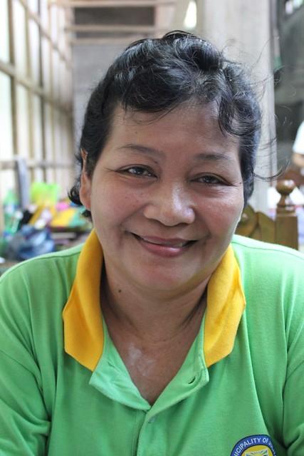 Julita municipal employee Evelyn R. Paltad