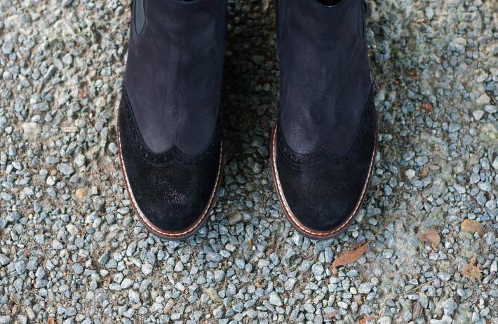 Wonders chelsea boots