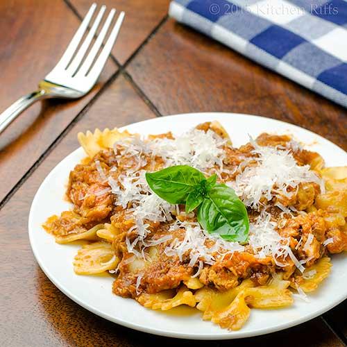 Italian Pork Ragu