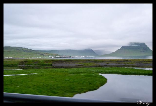 Grundarfjördur y volcán Kirkjufell