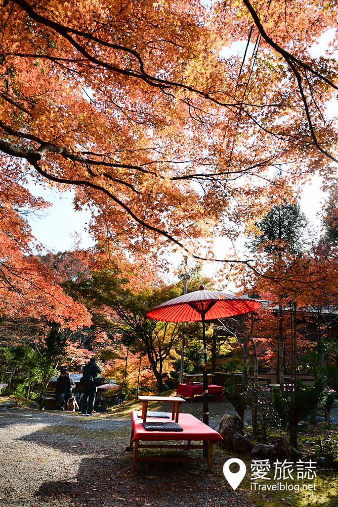 京都赏枫景点 神护寺 高雄茶屋 05