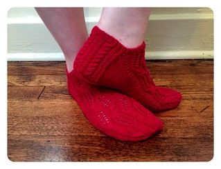 Red Knits_Breeze socks