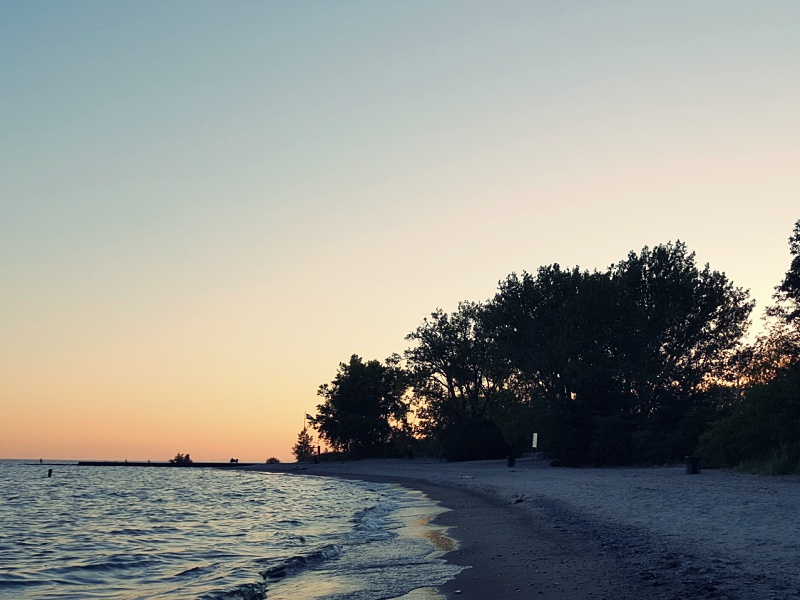 Hanlans Point Beach Toronto