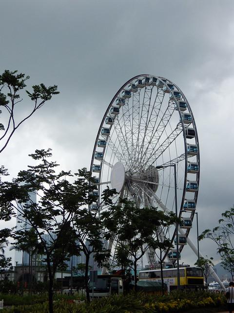 grande roue HK
