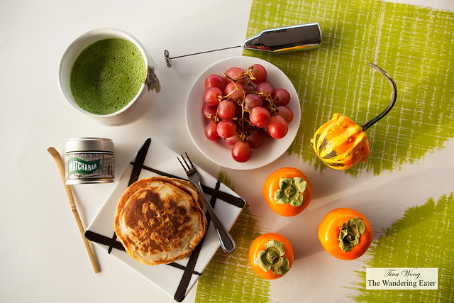 MatchaBar Modern Matcha Tea Set and breakfast