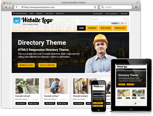 PremiumPress Directory v8.8 – Theme for WordPress