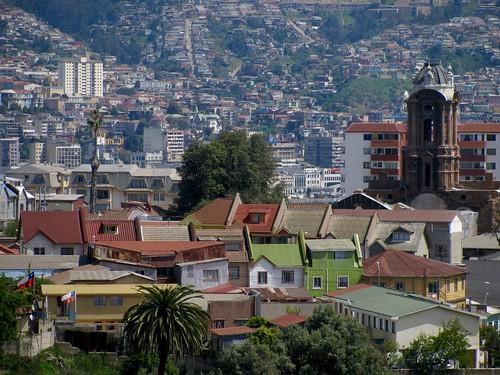 Cerro Barón e Iglesia San Francisco