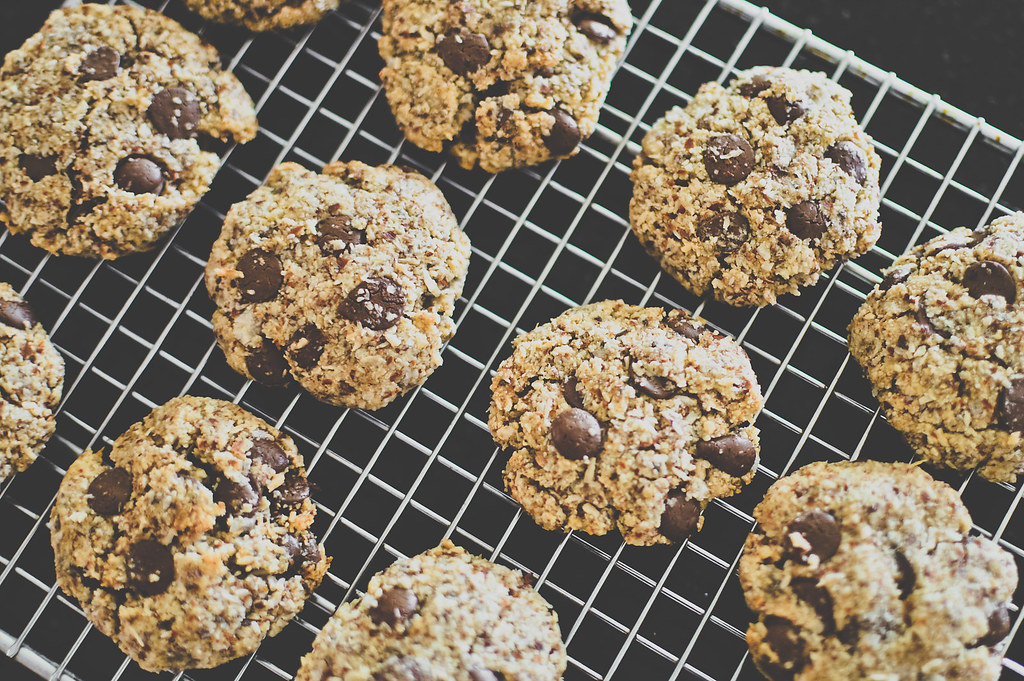 Vegan Almond Coconut Cookies